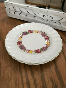 "Copeland Spode Rose Briar Bread & Butter Plate 6 3/4"" Made in England"
