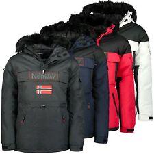 Geographical Norway Herren Winter Schlupfjacke Winterjacke Jacke Sehr warm Neu