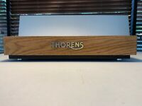 thorens plinth oak wood for Td 166 MKII/160/165/146 with logo and metal feets an