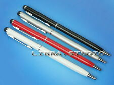 1x 2 in 1 Ball Point Pen Touch Screen Stylus for Apple Samsung Tablet Laptop