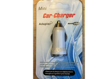 USB Car Charger Adaptor Universal Charger for iPhone all Mobiles iPod MP3 White