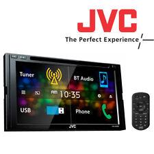 "Genuine New JVC KW-V430BT 6.8"" Bluetooth DVD/CD/AM/FM Car Stereo Touchscreen"