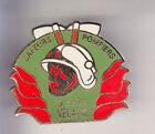 RARE PINS PIN'S .. POMPIER FIRE CASERNE CASQUE HACHE VELAUX 13 ~CD
