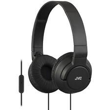 JVC HASR185 Leichte Leistungsstarke Over Ear Headphones mit Fernbedienung und Mi