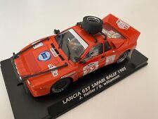 Fly Car Model Lancia 037 #27  Safari Rally 1986   1:32 Slot Car