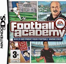 Nintendo DS - DS,3DS,DSi,Lite,XL - Football Academy - Brand New - Sealed