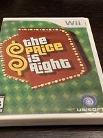 The Price is Right Nintendo Wii Game CIB Complete Manual FAST SAME DAY SHIPPED