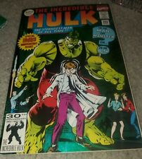 The Incredible Hulk #393 Foil Cover 30th Anniversary Issue Marvel 1992 Nm