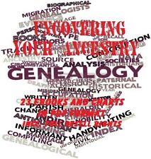 CD - GENEALOGY Collection + Bonus 20 eBooks & Charts