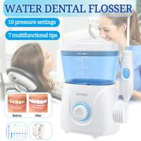 Electric Water Jet Dental Teeth Flosser Hydro Set Oral Irrigator Tooth Cleaner