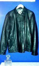Vintage style leather jacket XL Jesus and Mary Chain Indie