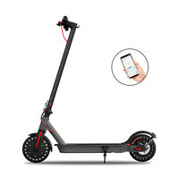 Hiboy S2 Electric Scooter 17 Miles 18.6MPH Portable Folding Scooter Double Brake