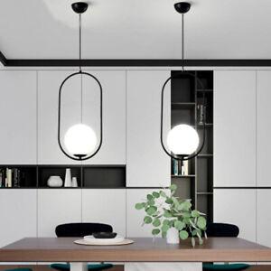 Glass Pendant Light Modern Ceiling Lights Kitchen Lamp Bar Chandelier Lighting