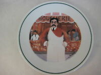 "Guy Buffet L'etalage Collection ""The Butcher"" Japan Plate, 7 3/4"" Diameter"