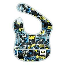 Waterproof Baby infant Bib DC Comics Batman Superhero Superman Fun Easy Wipe