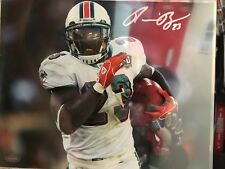 Ronnie Brown Signed Miami Dolphins 8x10 Photo Mounted Memories