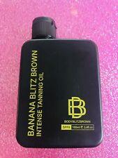 New & Sealed Banana Blitz Brown Intense Tanning Oil SPF 6 100ml