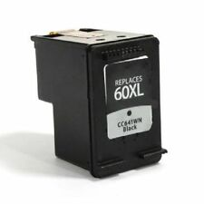 Compatible with HP 60XL Remanufactured Black Ink Cartridge (CC641WN) High Yield
