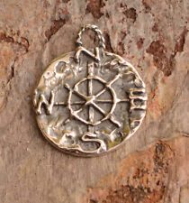 Artisan Find Your True North Compass Charm in Sterling Silver, CH-597