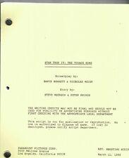 STAR TREK IV: The Voyage Home - Movie Script