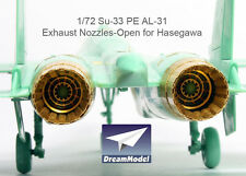 Dreammodel 1/72 0531 Russian Fighter Flenker-D SU-33 Exhaust Nozzle Nozzel