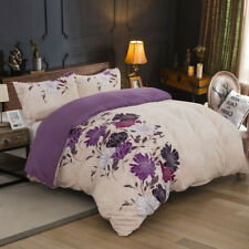 All Size Bed Ultra Soft Quilt Duvet Doona Cover Set Bedding Pillowcase Floral