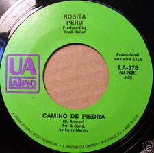 ROSITA PERU 45 Quedate Con Tu Dinero / Camino De Piedra UA LATINO label