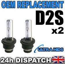 2x D2S 4300K  HID XENON BULBS OEM REPLACEMENT PHILIPS BMW VW  MERCEDES AUDI GOLF