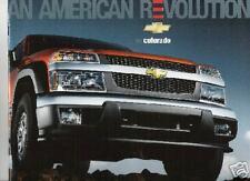 Mint  2005 Chevrolet COLORADO Brochure '05 chevy