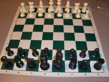 Complete Analysis Chess Set - Forest Green*  + FREE pouch NEW