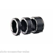OHNAR CANON EOS AUTO EXTENSION TUBE SET MACRO PHOTOGRAPHY DIGITAL FILM CAMERAS
