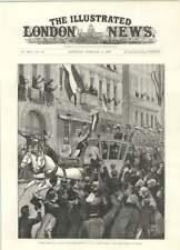 1894 Prince Bismarck Visits German Emperor Entering Berlin Royal Coach