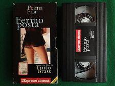 VHS Film - FERMO POSTA (ITA 1995) di TINTO BRASS , CINZIA ROCCAFORTE