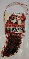 Vintage 1984 Christmas Naughty Stocking Filled Genuine Coal Rennoc Corp.