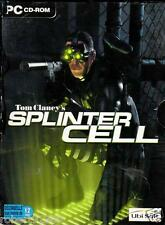 JEU PC CD ROM../..TOM CLANCY'S...SPLINTER CELL....PLUS PANDORA TOMORROW../..4 CD
