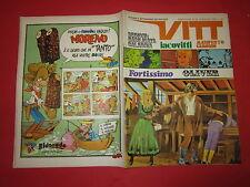 SETTIMANALE VITT N°20-MAGGIO 1969  MANIFESTO DI GIMONDI 007 A MILANO JACOVITTI