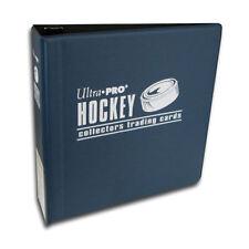 "Lot of 2 Ultra Pro 3"" Hockey Card Binder Collector's Album Blue Binders"