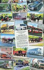 "SANITARIUM HEALTH FOOD 1979 SET OF 20 ""HISORY OF ROAD TRANSPORT"" TRADE CARDS"