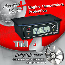 TM4  with COOLING FAN KIT  -  TEMPERATURE SENSOR, TEMP GAUGE & LOW COOLANT ALARM