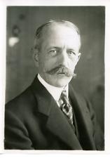 Émile Daeschner, ambassadeur de France à Washington Vintage silver print Tirag