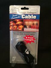 Westek Ec48B Low Voltage Halogen Dual Connector Cable 4 Ft