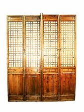 Antique Chinese Screen Panels (5376)(Temple Door), Cunninghamia Wood, 1800-1849