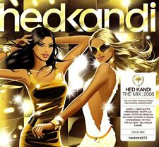 HED KANDI THE MIX: 2008 various (3 XED, compilation, mixed) house disco electro