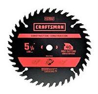 CRAFTSMAN Carbide Circular Saw Blade 5 1/2 Inch 40T Fast Cutting CHN 37652