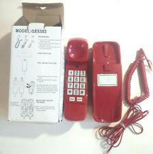 Red Corded Trimline Phone Model:GE5303....C5