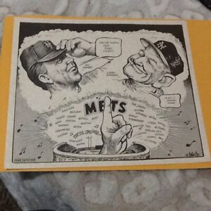 Daily News Bill Gallo New York Mets Posters 1986 World Series WERE#1 FREE SHIPPI