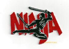 NINJA LOGO CREST HAT PATCH MARTIAL ARTS MMA UNIFORM Tae Kwon Do PIN UP QUILT