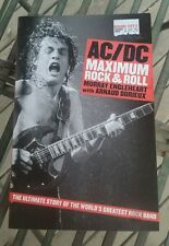 AC/DC MAXIMUM ROCK & ROLL BOOK