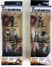 10 Metal Walking Dead Nano Metalfigs Rick Daryl Negan Michonne Glenn Die Cast