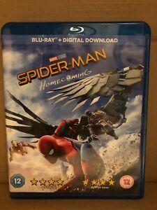 Spider-Man Homecoming (Blu-ray, 2017) + Digital Download